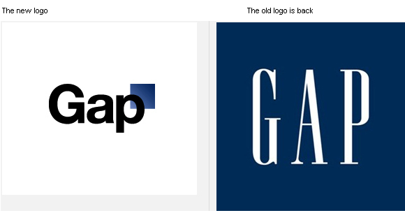 Logo Fail: GAP