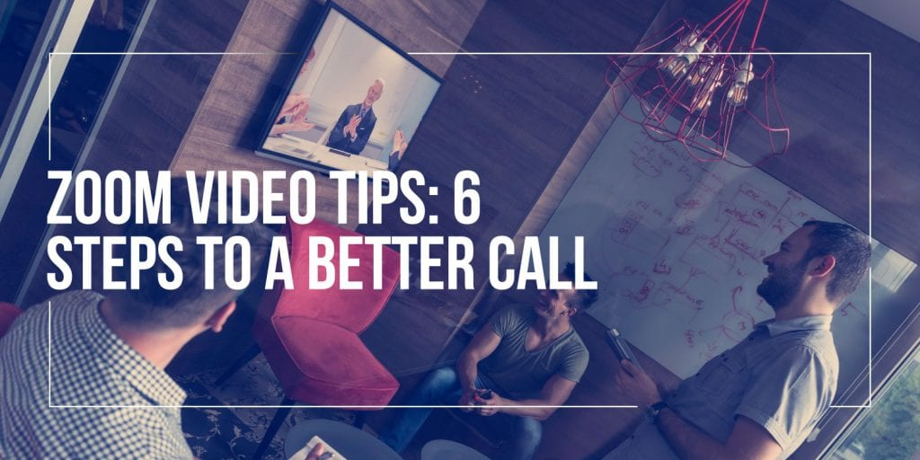 Zoom Video Tips