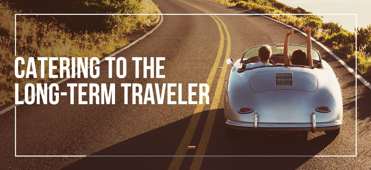 Long Term Traveler Strategies